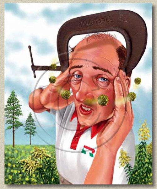 Аллергия на пыльцу растений может стать причиной аллергического артрита.