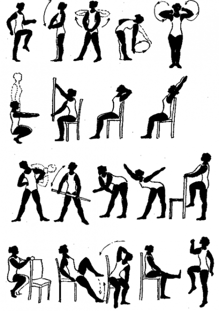 Комплекс лечебной гимнастики при полиартритах