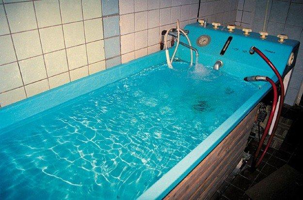 Лечебные ванны при профессиональном полиартрите