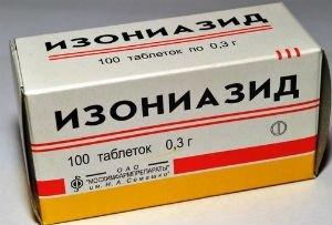 Изониазид – один из антибиотиков, применяемых при химиотерапии туберкулёза.