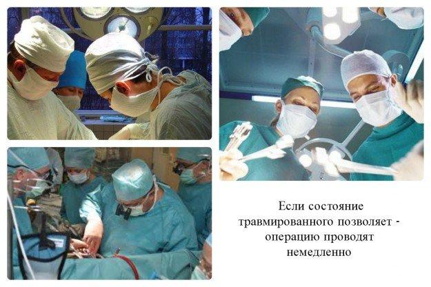 К сожалению, не всегда врачи могут провести срочную операцию