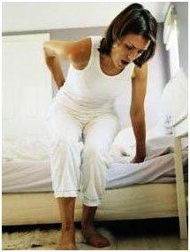 Боль в кончике у женщины