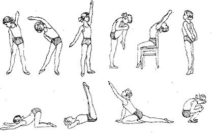 примерные упражнения при сколиозе первой степени