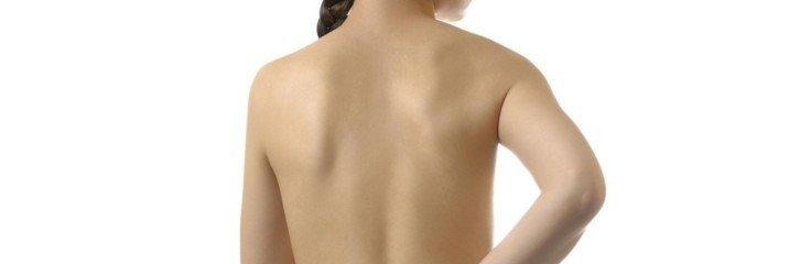 Женщина с болью в спине