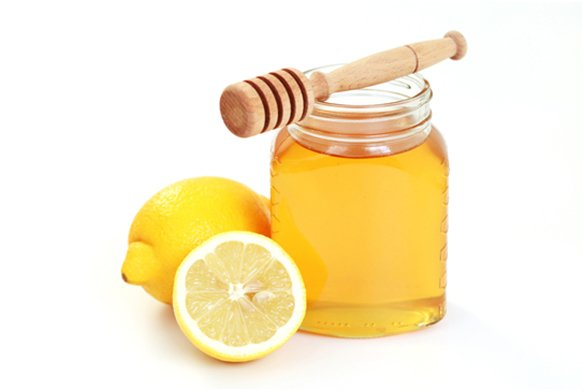 мед в банке и лимон