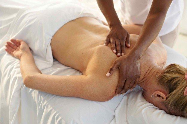 Техника массажа спины при остеохондрозе
