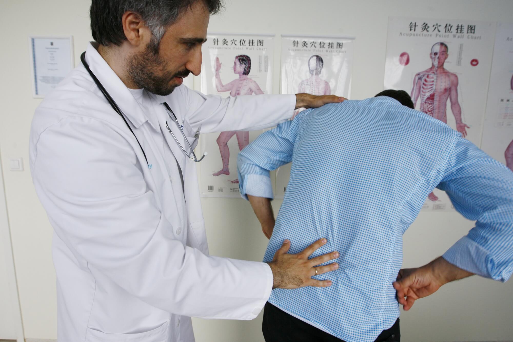 Миозит мышц спины: причины, стадии, диагностика
