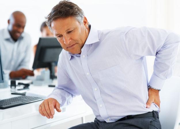 Симптомы люмбоишиалгии