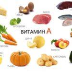 Продукты-источники витамина А