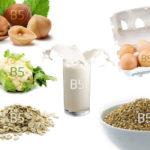 Продукты-источники витамина В5