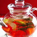 Чай из имбиря и розмарина
