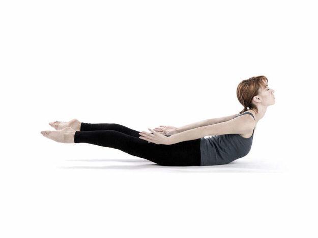 Упражнение «Лодочка» для укрепления позвоночника