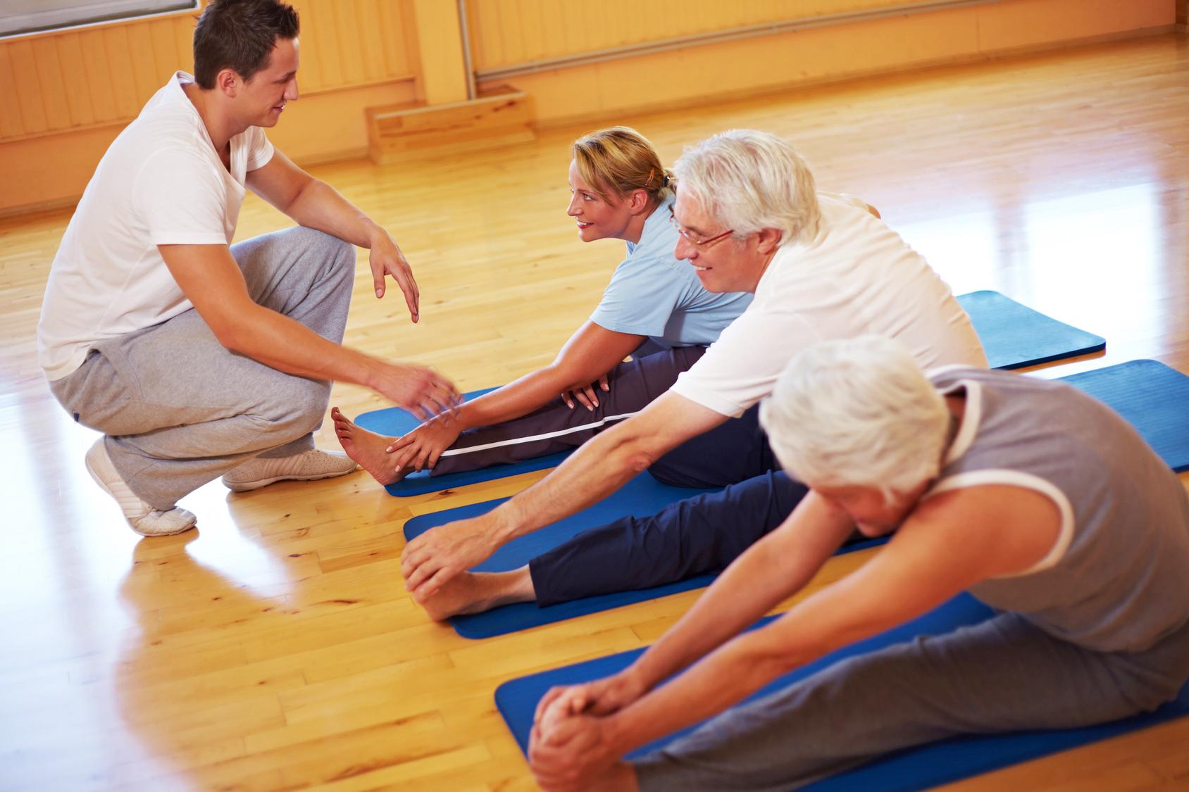 Упражнения при невралгии грудного отдела