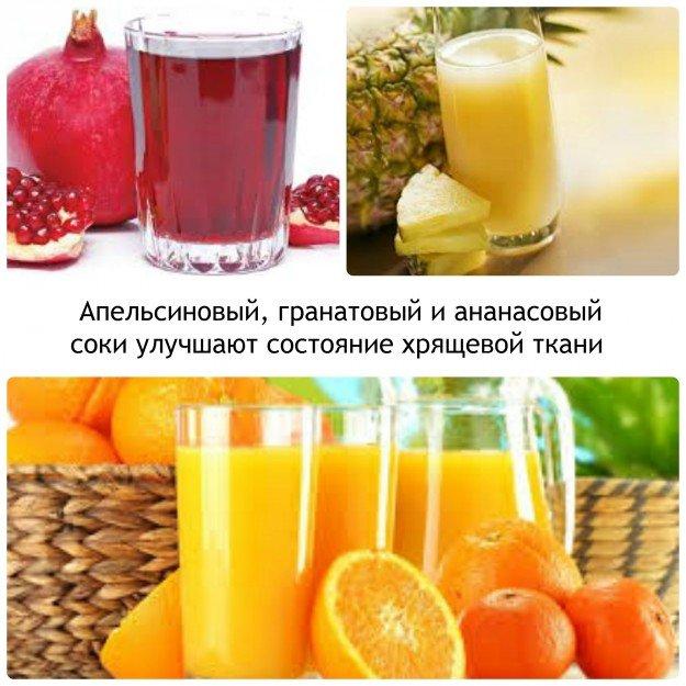 Напитки для здоровья хрящевой ткани