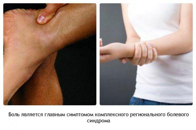 Симптомы КРБС