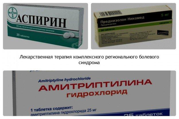 Некоторые лекарственные формы, применяемые при КРБС