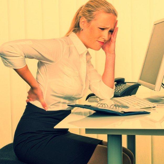 Миофасцильная боль в спине