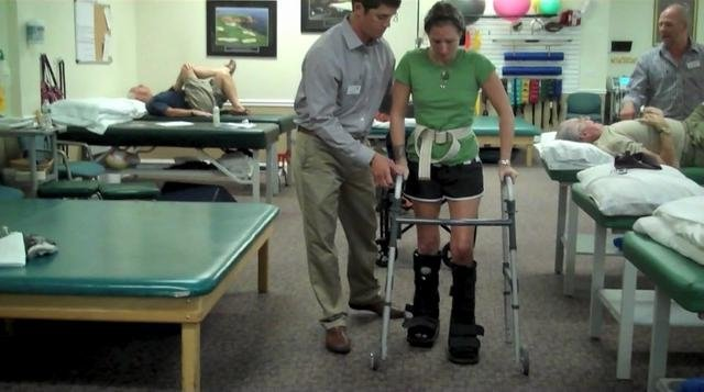 Реабилитация после перелома пяточной кости со смещением и без ...