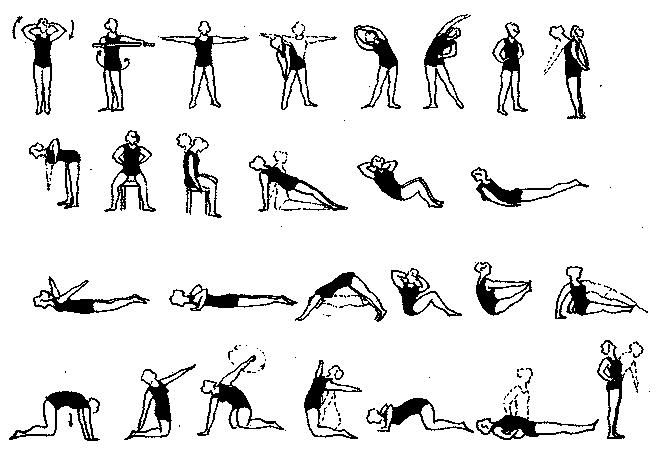 Комплекс упражнений для осанки у детей школьного возраста