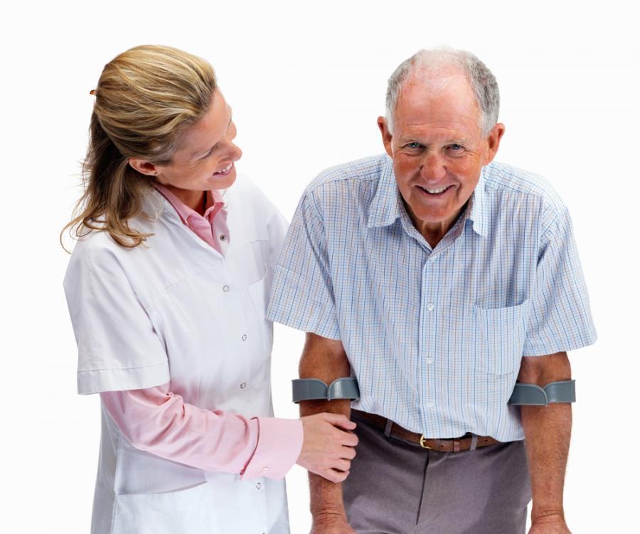 Как реабилитировать больного после перелома шейки бедра