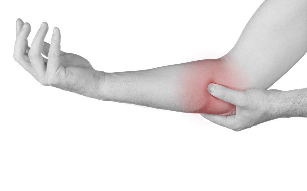 Эпикондилит локтевого сустава: лечение, симптомы, причины