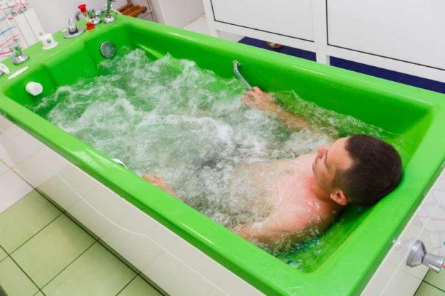 Бальнеологическая ванна с бишофитом