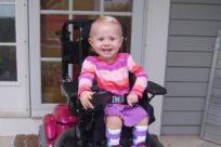 Ребёнок со спинальной мышечной амиотрофией