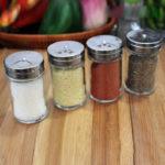 Соль и приправы