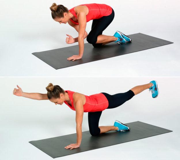Упражнения для спины по Буновскому