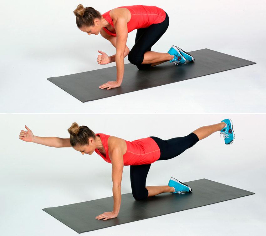 Упражнения на спину для девушек в домашних условиях